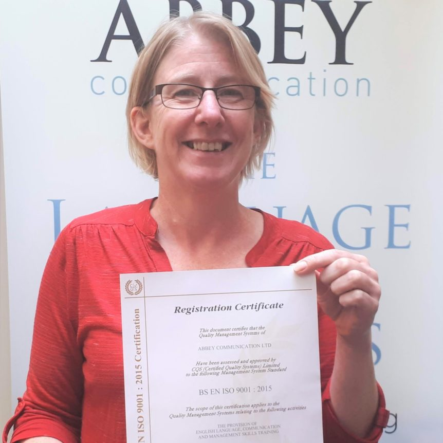 Abbey Communication ISO-9001 certification